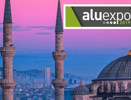ALUEXPO 2019 – 6th International Aluminium Technology, Machinery and Products Trade Fair Istanbul Expo Center, Istanbul, Turkey
